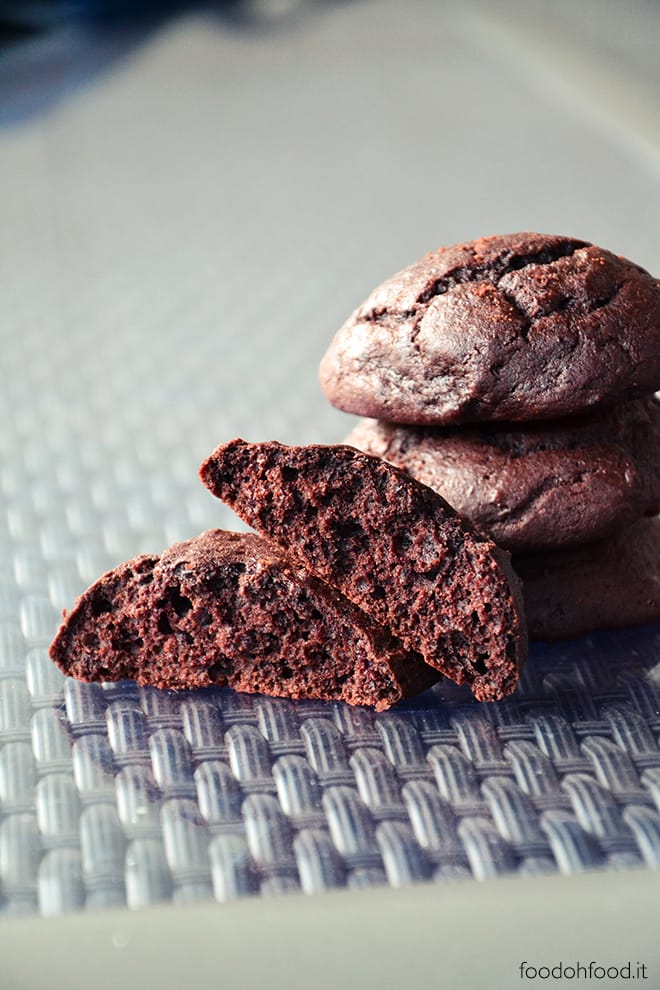 Melt in your mouth cocoa and kefir cookies