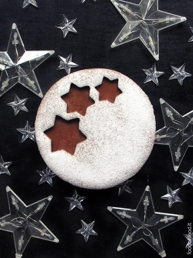Mega biscotto natalizio con la caramella mou gigante