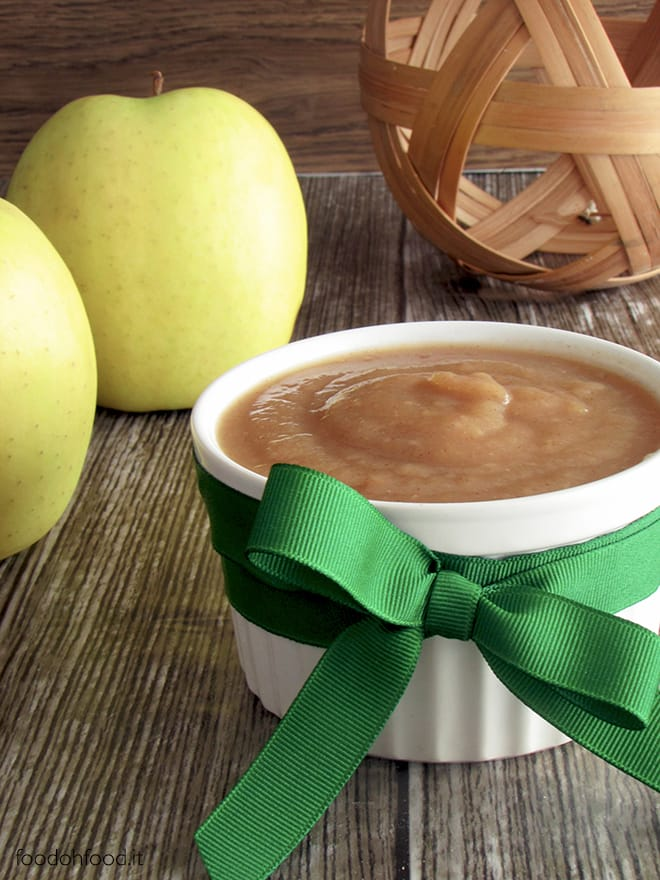 Applesauce – extremely versatile, sugar-free apple sauce