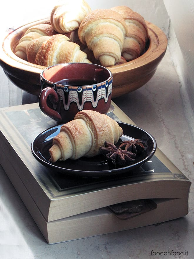 Five-spice and mascarpone soft croissants