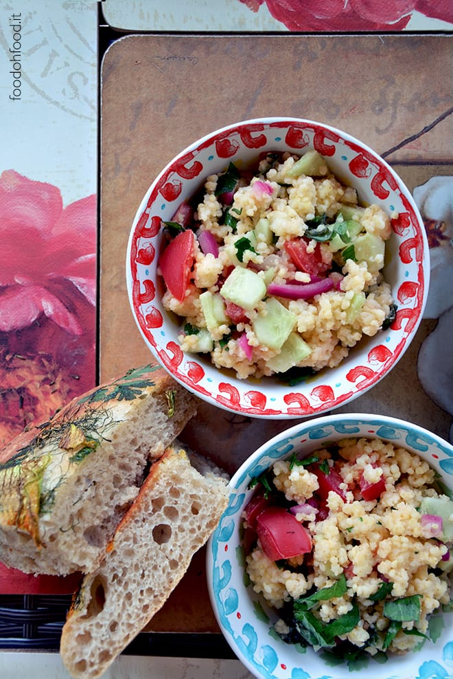 Millet tabbouleh – fresh and fragrant millet salad