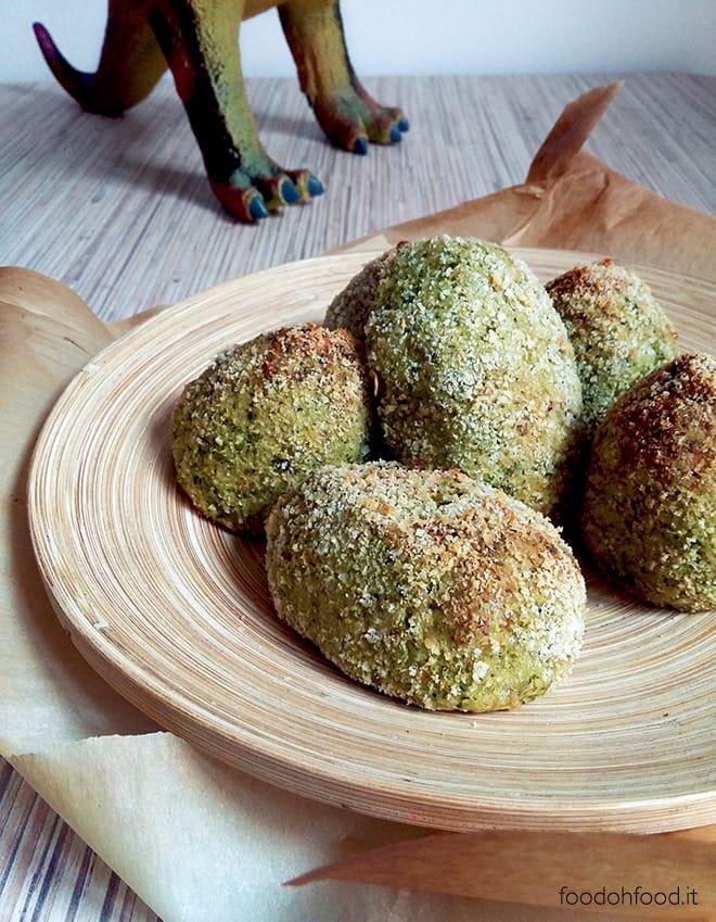 Uova di dinosauro – deliziose polpette di broccoli cotte al forno