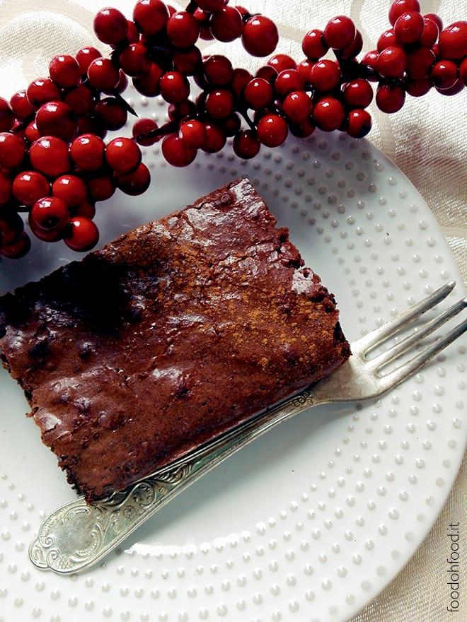 Brownie natalizio – torta al cioccolato speziata