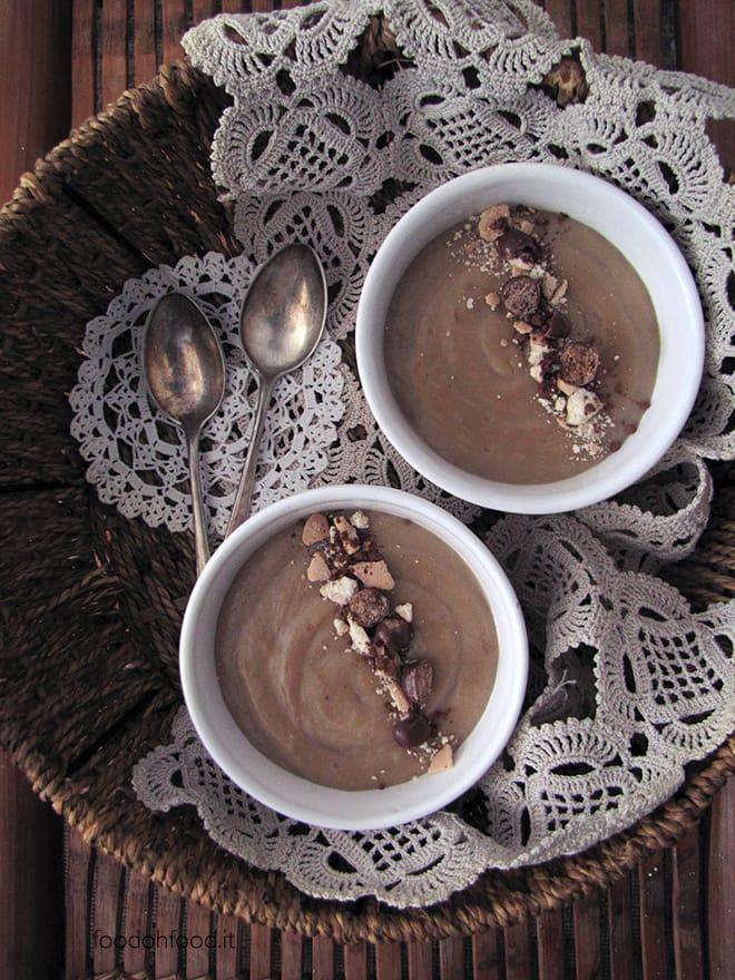 Barley coffee pudding