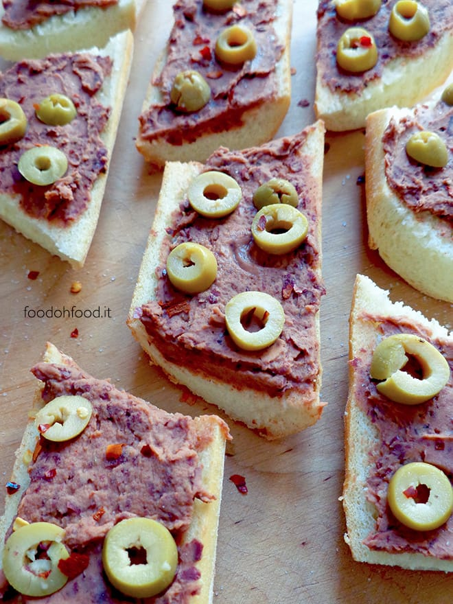 Spicy red bean spread