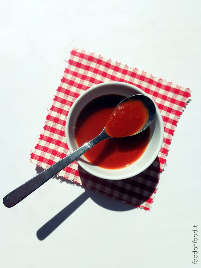 Cherry tomato ketchup