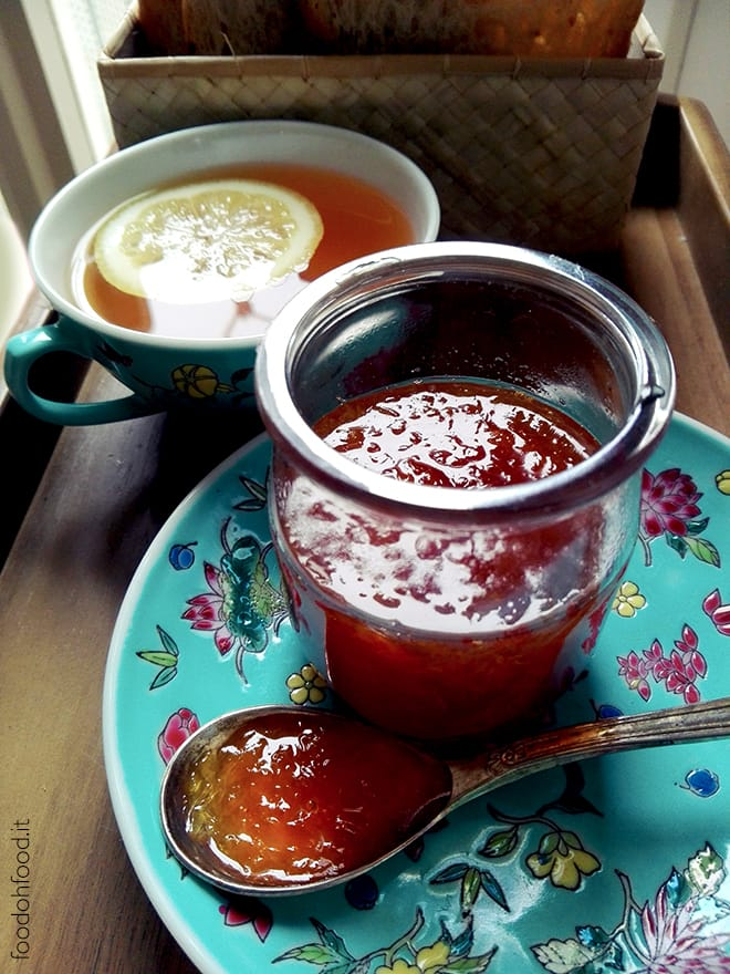 Homemade citrus marmalade