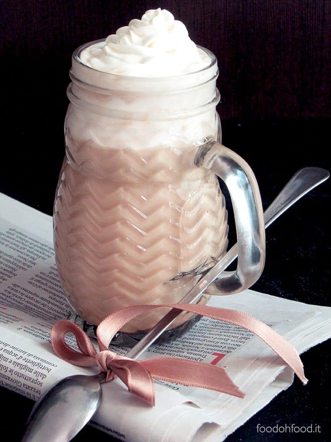 Mocaccino al cioccolato bianco