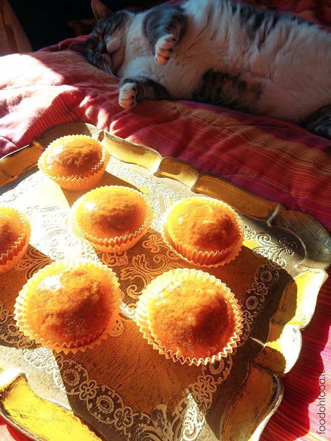 Muffin di zucca e arancia