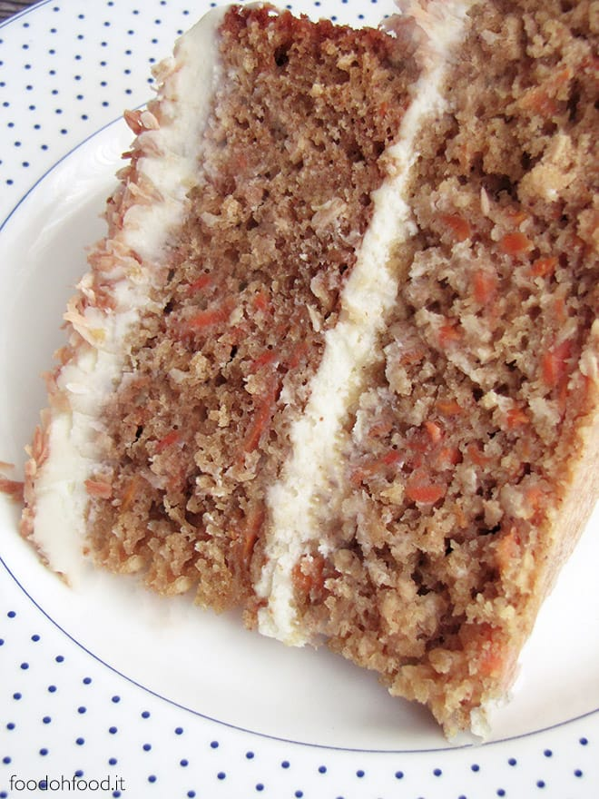 Best ever carrot cake with toasted coconut