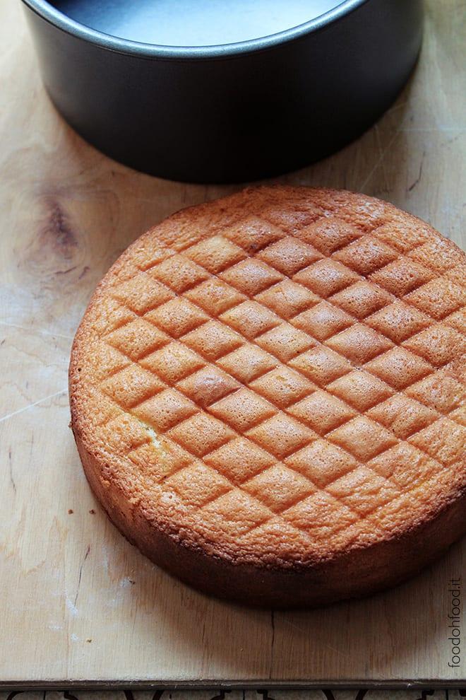 Pan di spagna con burro
