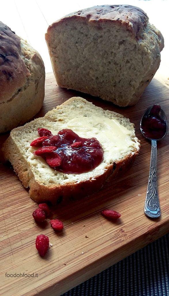 Bread with zucchini