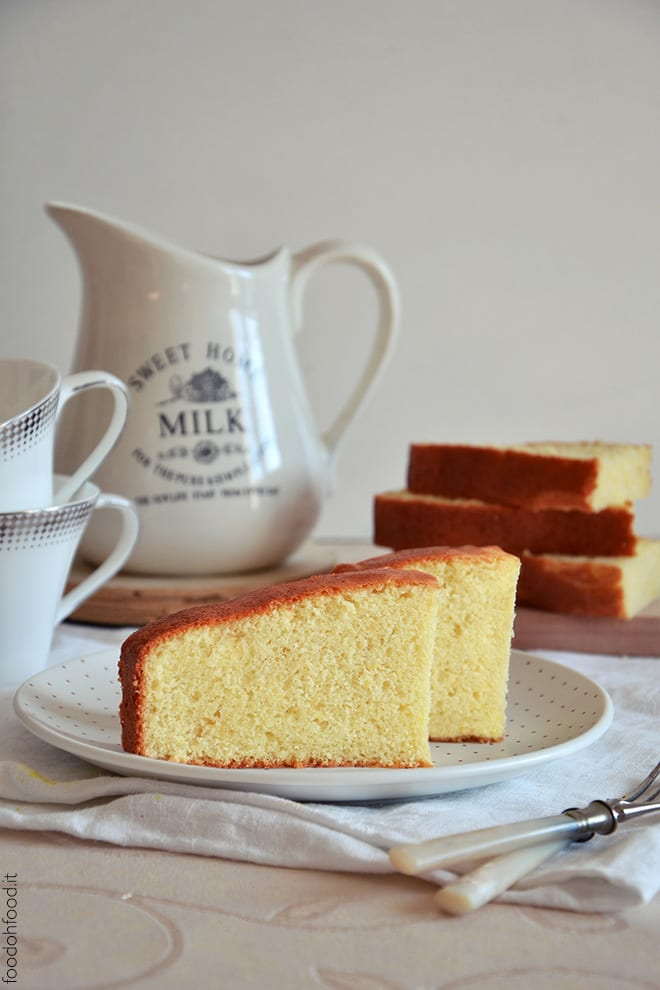 Hot milk sponge cake – easy and delicious