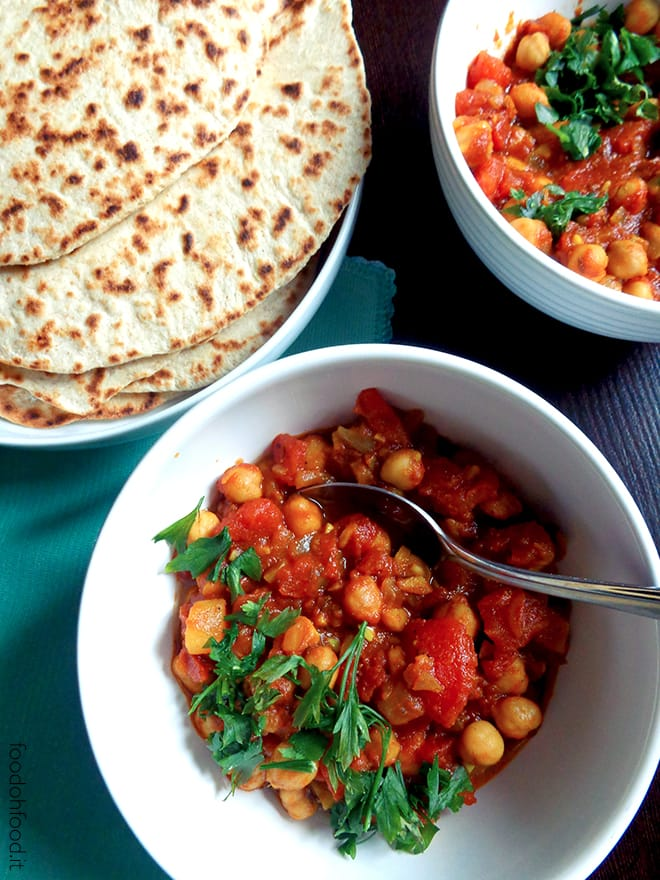 Chana masala – chickpea vegetarian stew