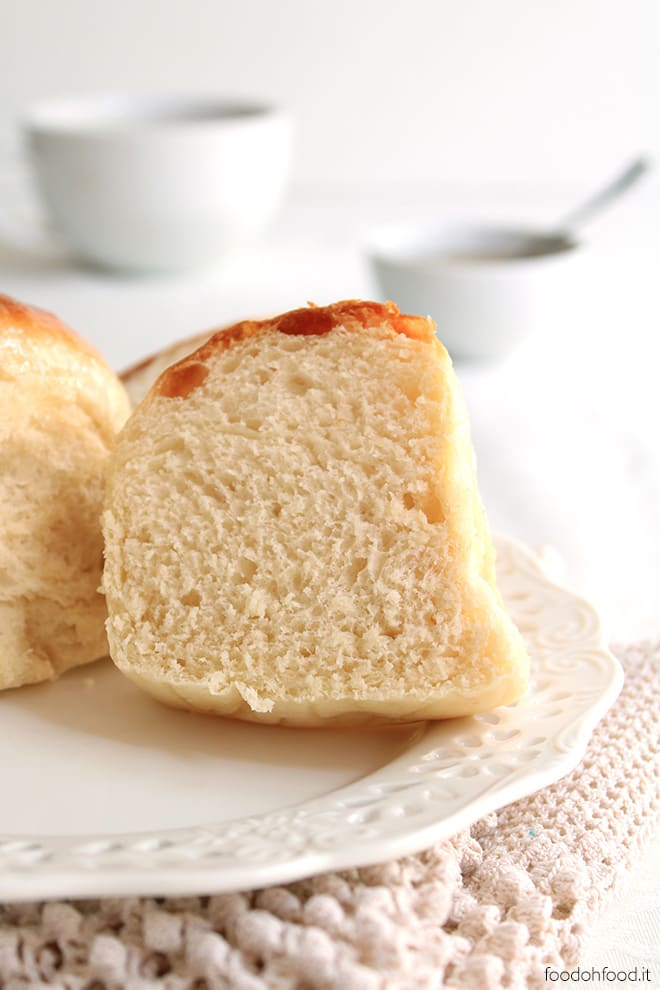 Panini con burro salato e miele