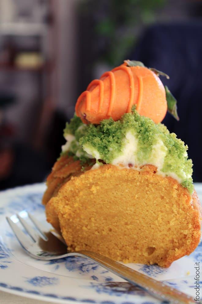 Moist carrot bundt cake