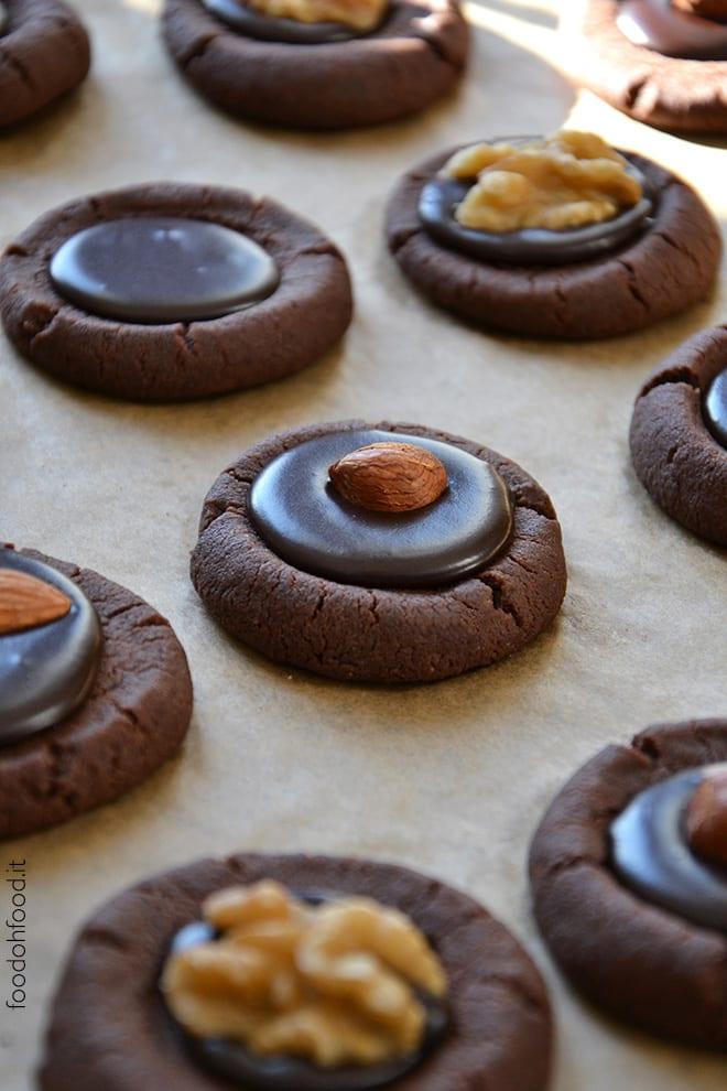 Biscotti senza uova al cioccolato