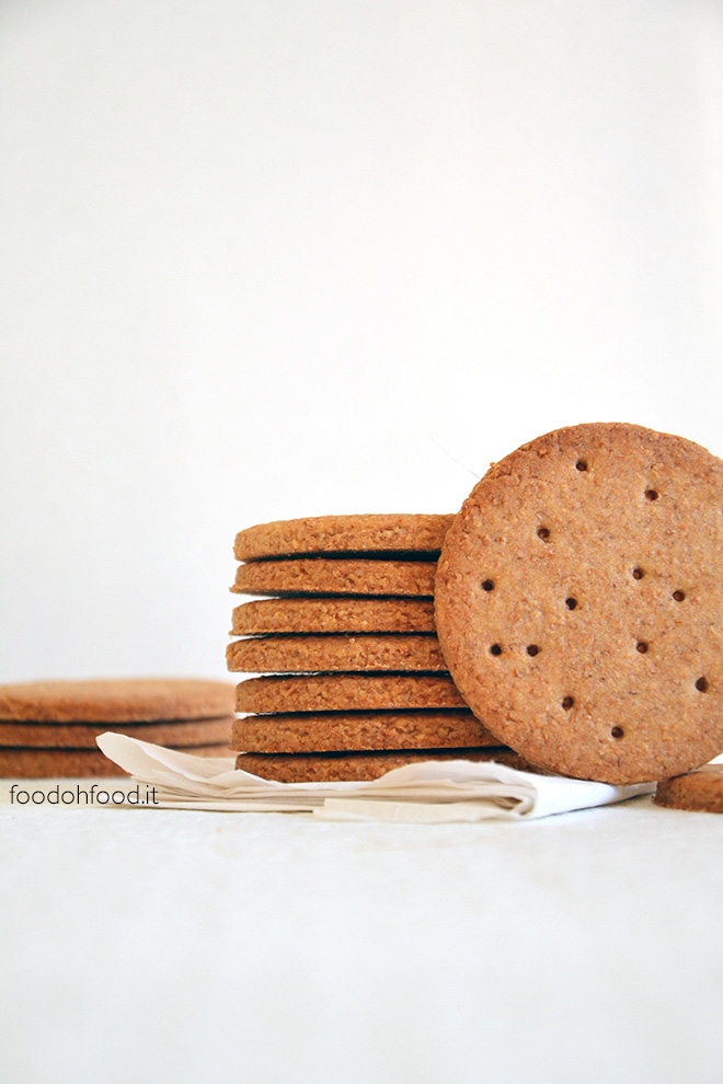Easy wholemeal flour cookies