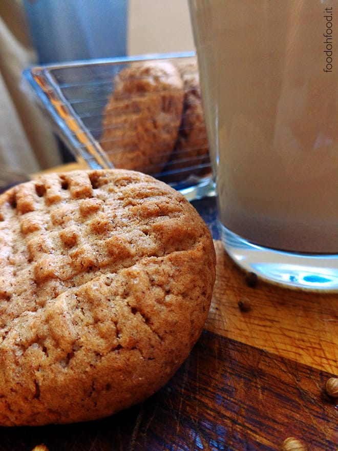 Coriander wholemeal cookies