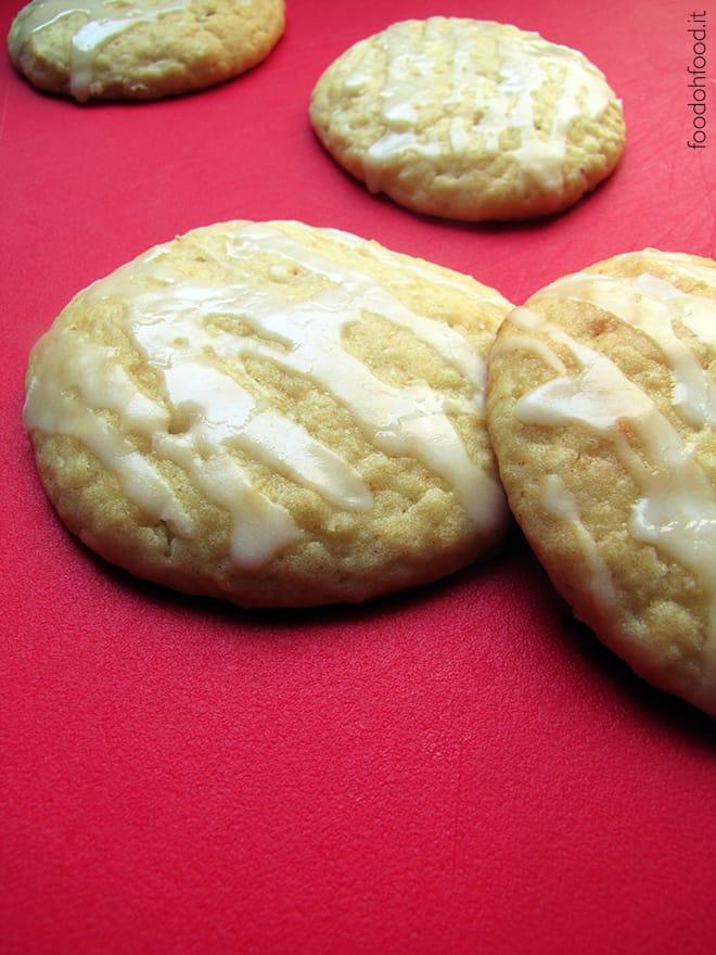 Biscotti morbidi al limone, zenzero e pepe di cayenna