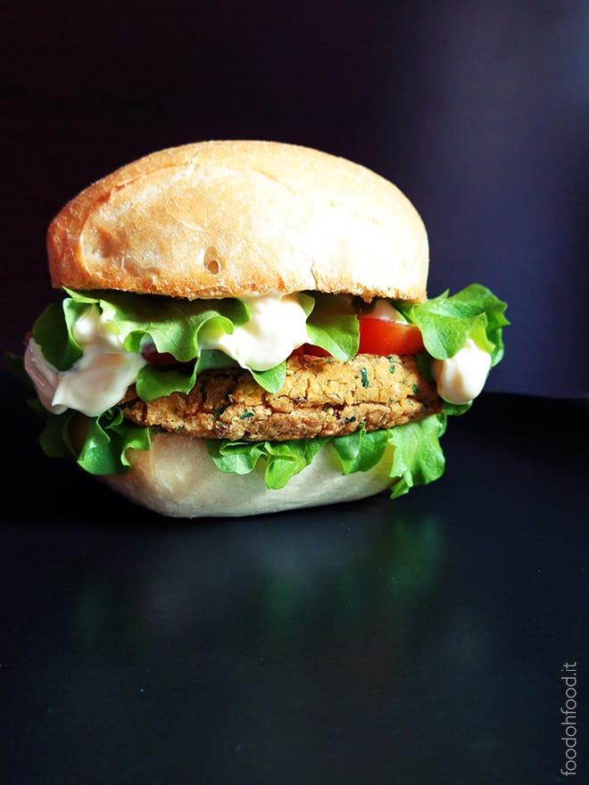 Burger di falafel – burger vegetariano