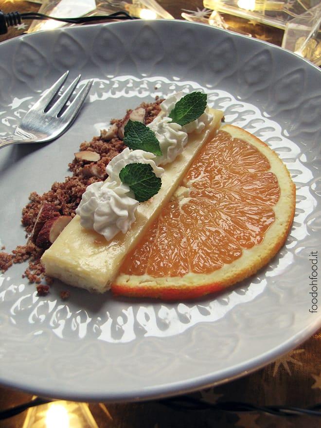 Monoportion orange cheesecake
