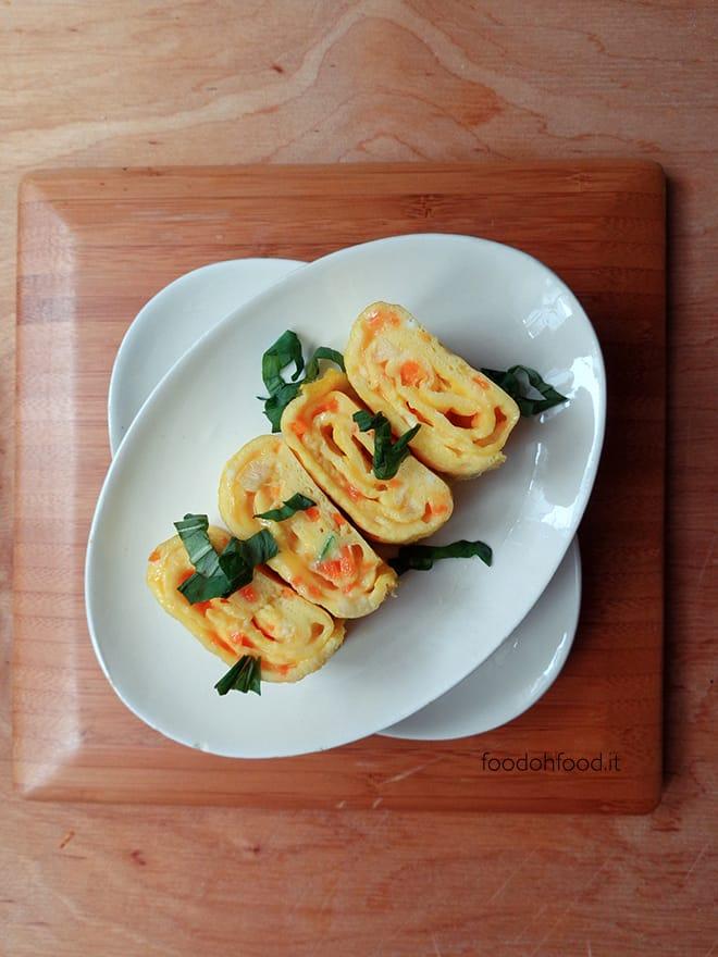 Frittata morbida con le verdure