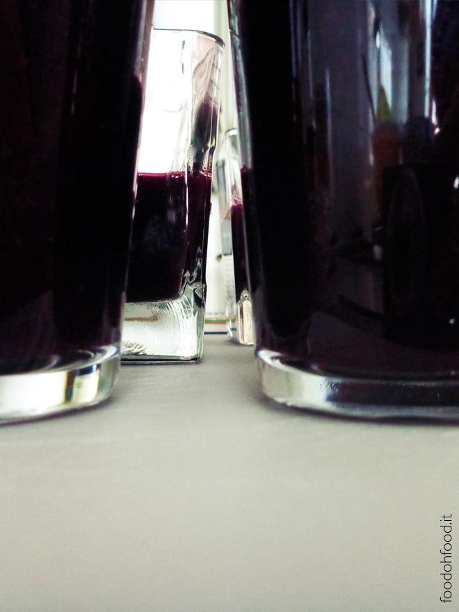 Intense grape jelly