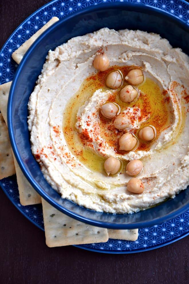 Hummus di ceci (ricetta base)