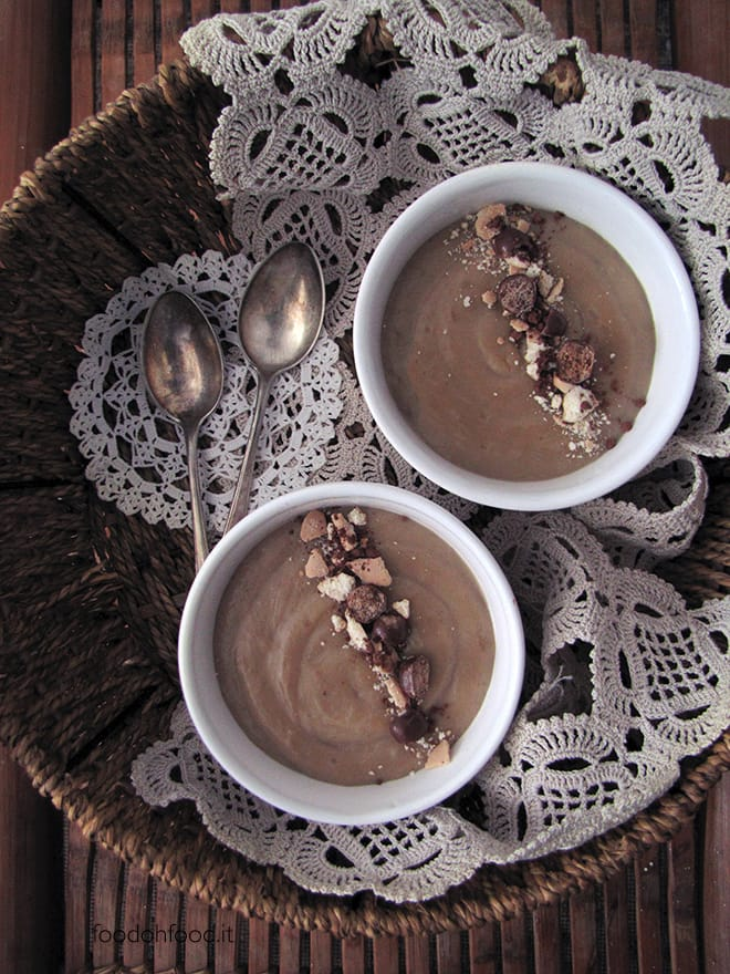 Barley coffee pudding