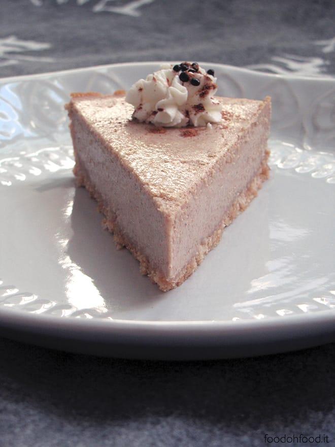 Cinnamon and cardamom cheesecake