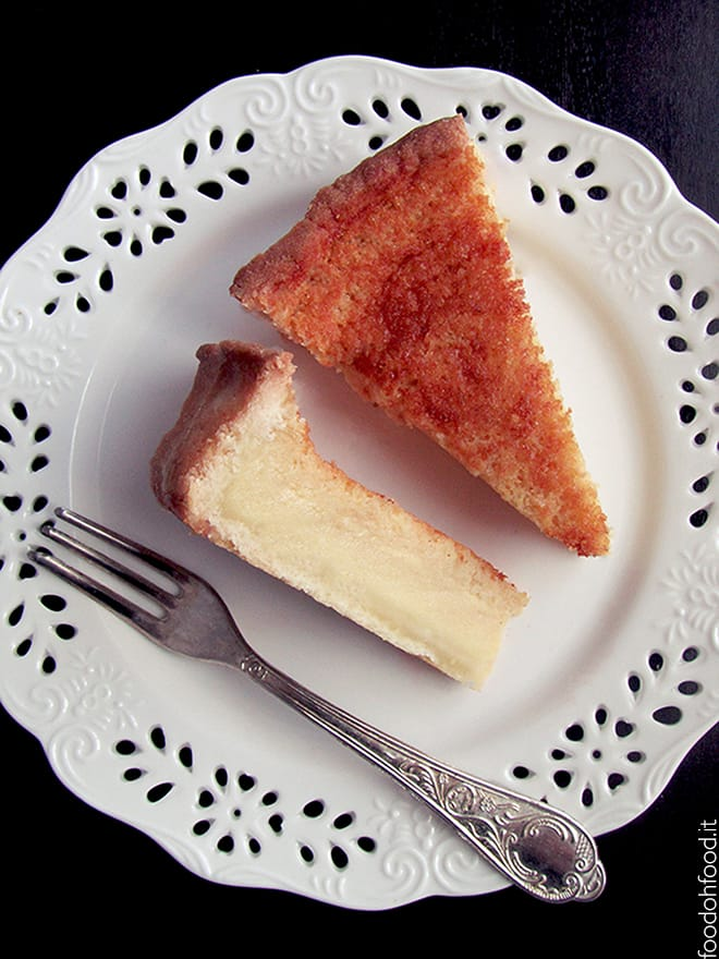 Milk and lemon pie