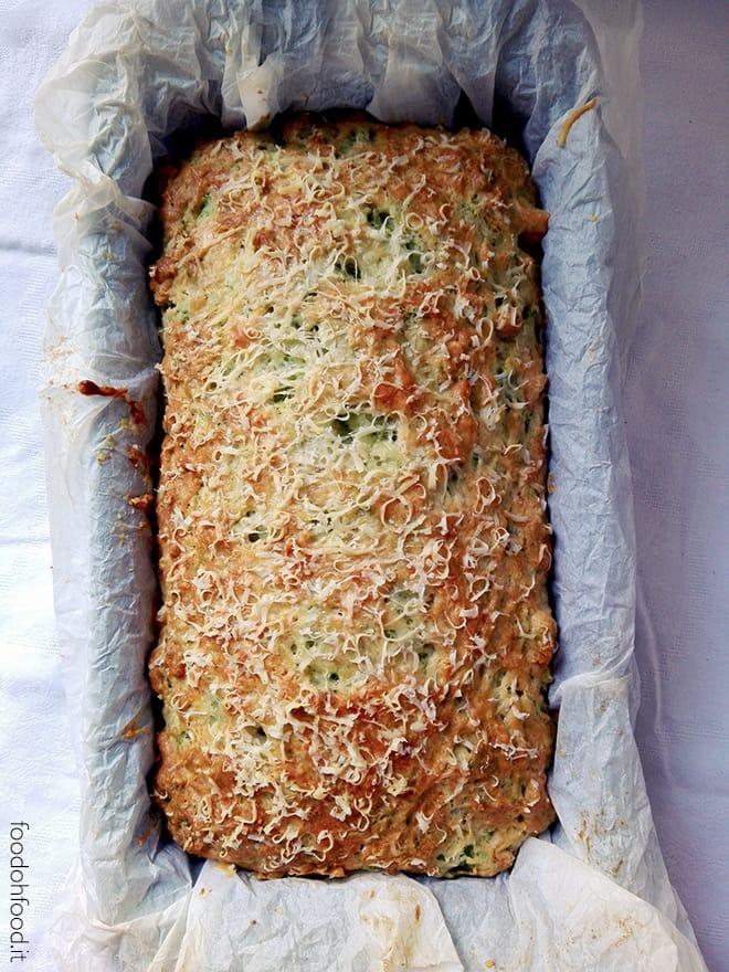 Plumcake broccoli e pecorino