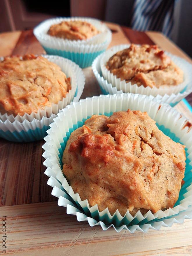 Muffin con patate dolci