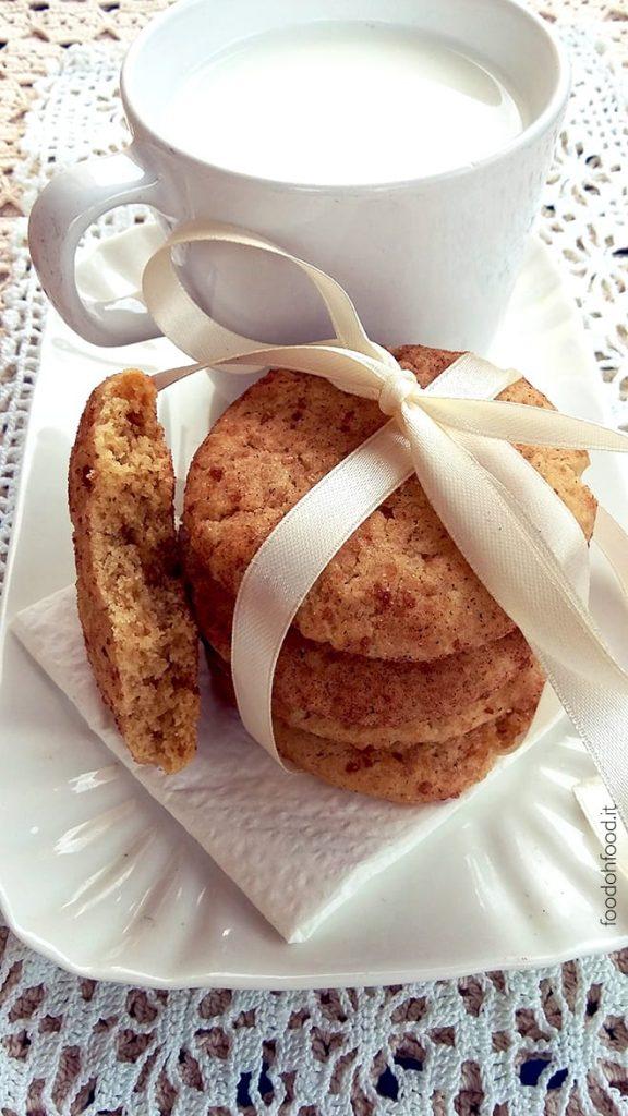 Snickerdoodles – biscotti alla cannella