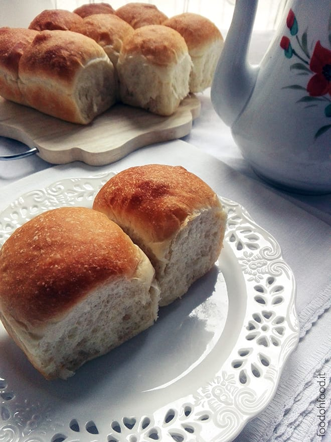 Super soft butter rolls