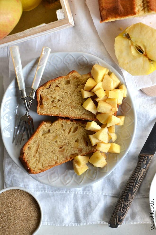 Apple pound cake loaf