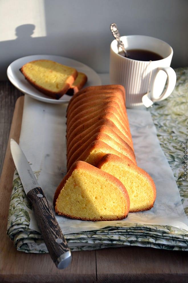 Ricetta plumcake con lo stampo in silicone