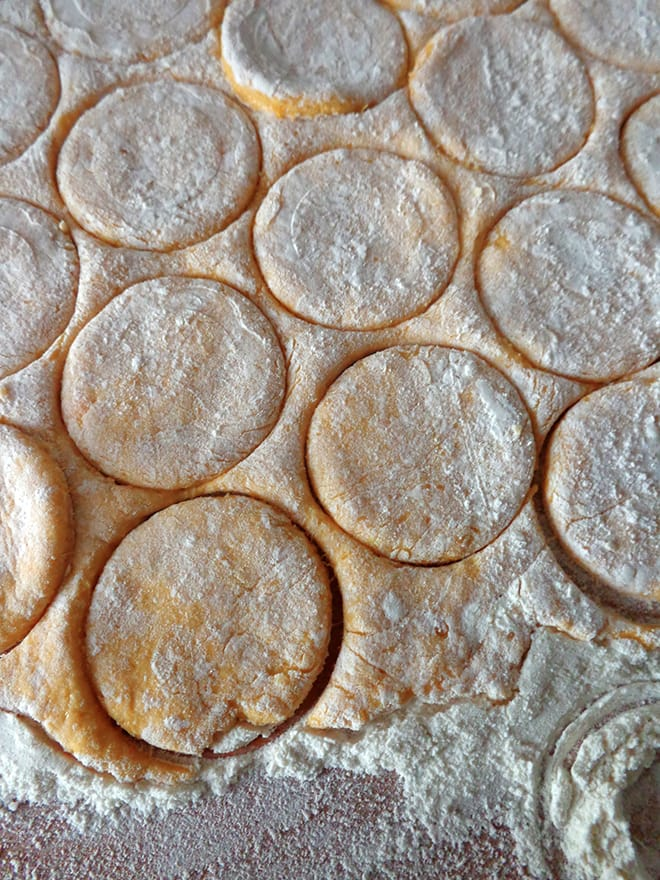 Mini pumpkin scones