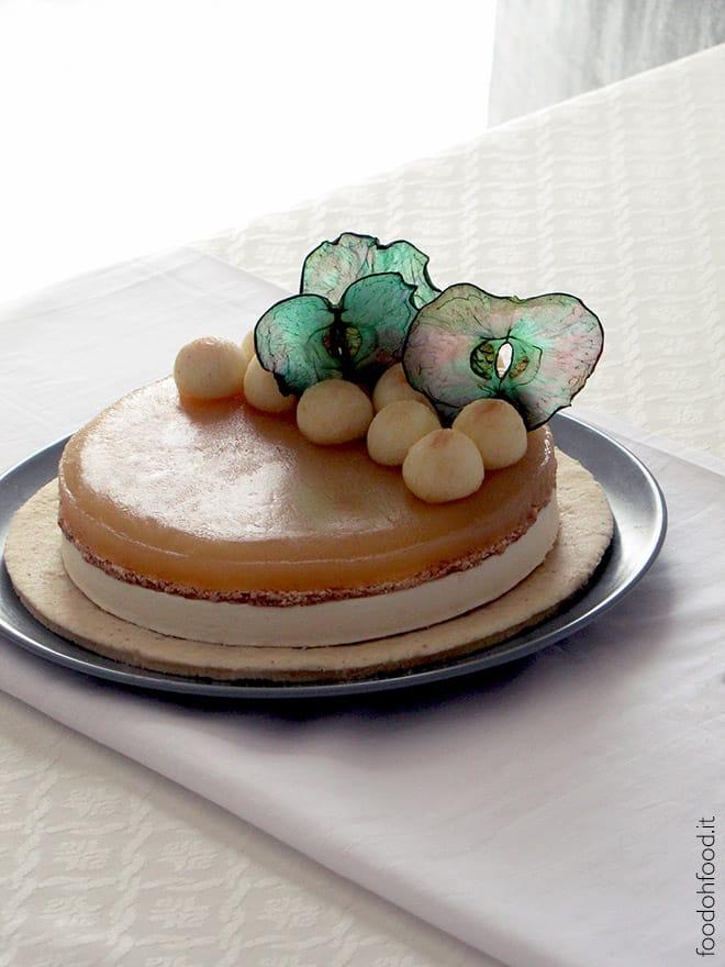 Torta Melanconia – cremosa torta nuda di mele