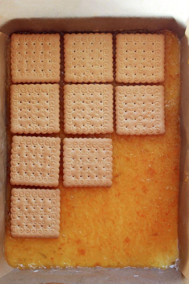 No-bake citrus cake