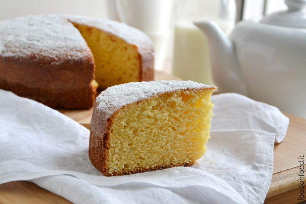 Soft vanilla and ricotta breakfast cake